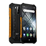 Ulefone Armor X3 (2019) Outdoor Smartphone Android 9.0 (5,5 Zoll Display, 2GB + 32GB, 5000mAh Akku, IP68 Handy wasserdicht stoßfest staubdicht, Dual SIM 3G Phone, Kompass, GPS, WiFi) Orange