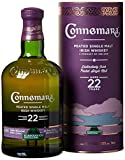Connemara Irish Peated Malt 22 Years Old Whisky mit Geschenkverpackung  (1 x 0.7 l)