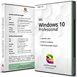 Windows 10 Professional - ExpertLicense 32/64 bit ISO DVD + Lizenz Key per E-Mail - inkl. aller aktuellen Updates - Deutsch