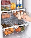 NaturPur Kühlschrank Organizer Ordnungssystem zur Aufbewahrung Küche - Aufbewahrungsbox...