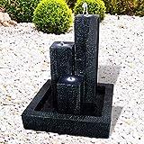 Gartenbrunnen Brunnen Zierbrunnen Zimmerbrunnen Springbrunnen Brunnen mit LED-Licht...