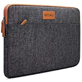 KIZUNA Tablet Tasche 10 Zoll Wasserdicht Laptop Hülle Sleeve Notebook Bag Für 9.7' 10.5' 11' iPad Pro/10.5' iPad Air/10 Surface Go/10.5' Samsung Galaxy Tab/10.8' Huawei MediaPad M5 Pro/Lenovo, Braun