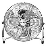 OZAVO Standventilator, Windmaschine ⌀35/45/50 cm mit 3 Laufgeschwindigkeiten,...