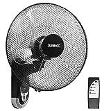 Duronic FN55 Wandventilator 60W - Durchmesser: 40 cm – Timer und Fernbedienung – 3...