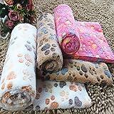 YYM m Haustier liefert Decken Haustierdecken/Hundedecken/Haustiermatten/Katzendecken Fußabdrücke...