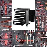 Werkzeugwagen Werkstattwagen mit 8 Schubladen davon 7 mit Werkzeug wie...